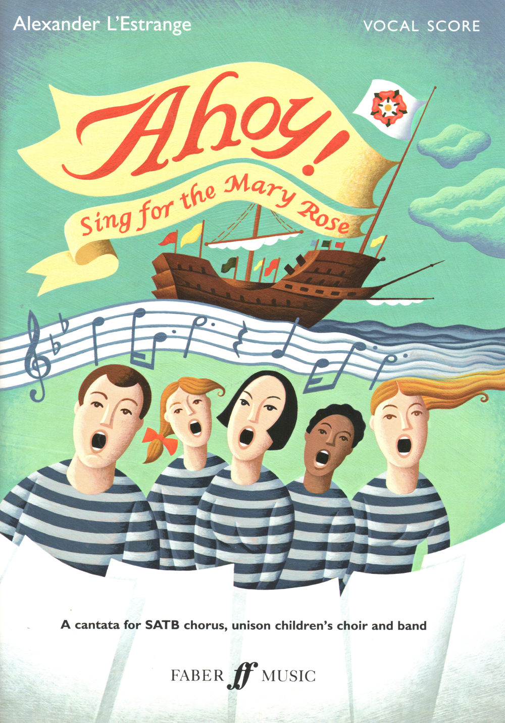 Book Cover - Ahoy! Sing for the Mary Rose