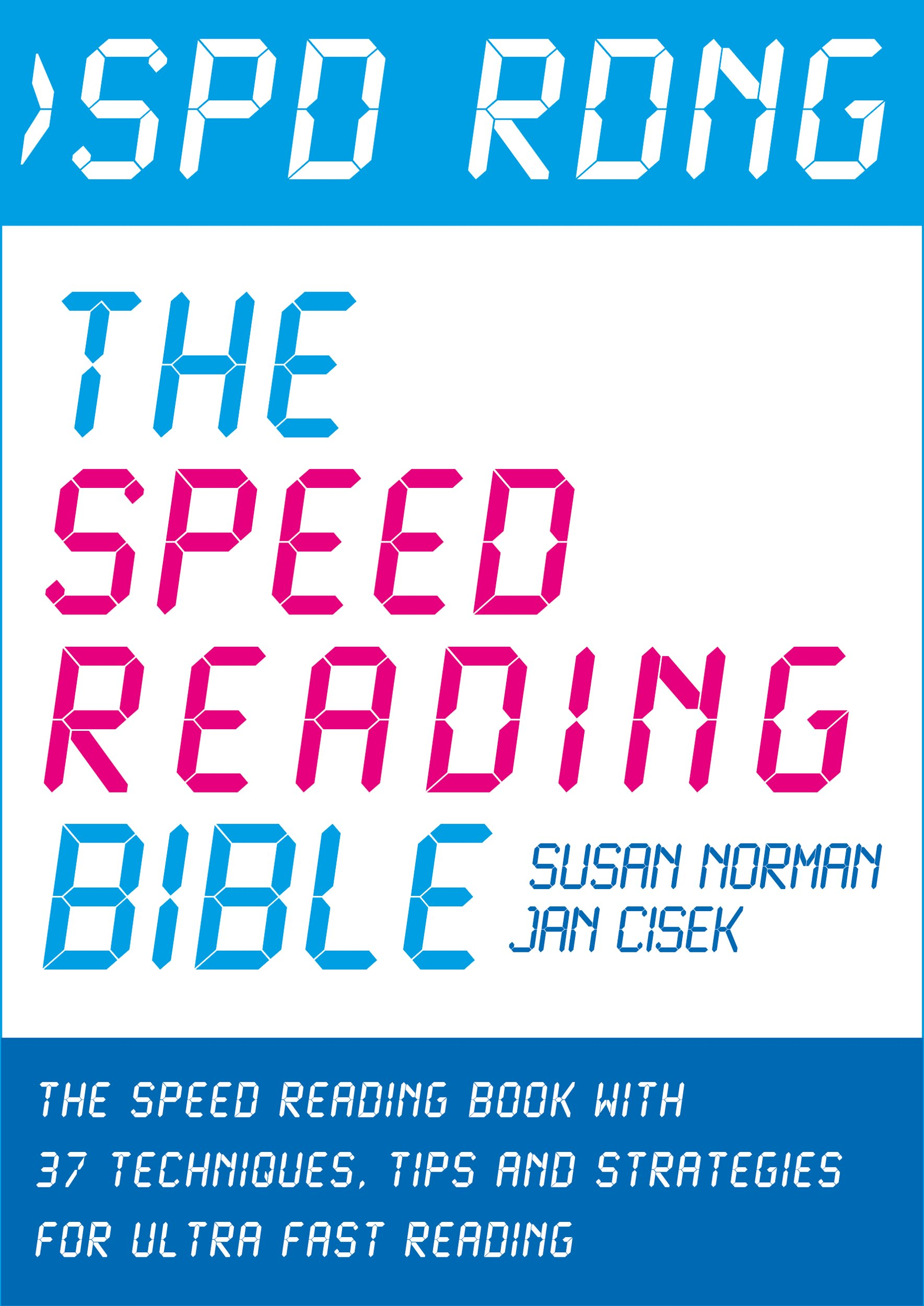 Ebook Cover - The Speed Reading Bible