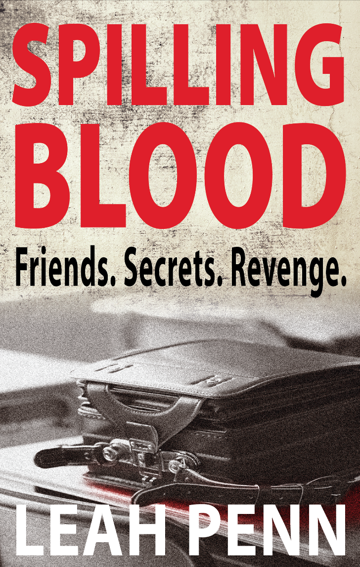Spilling Blood Cover by Leah Penn