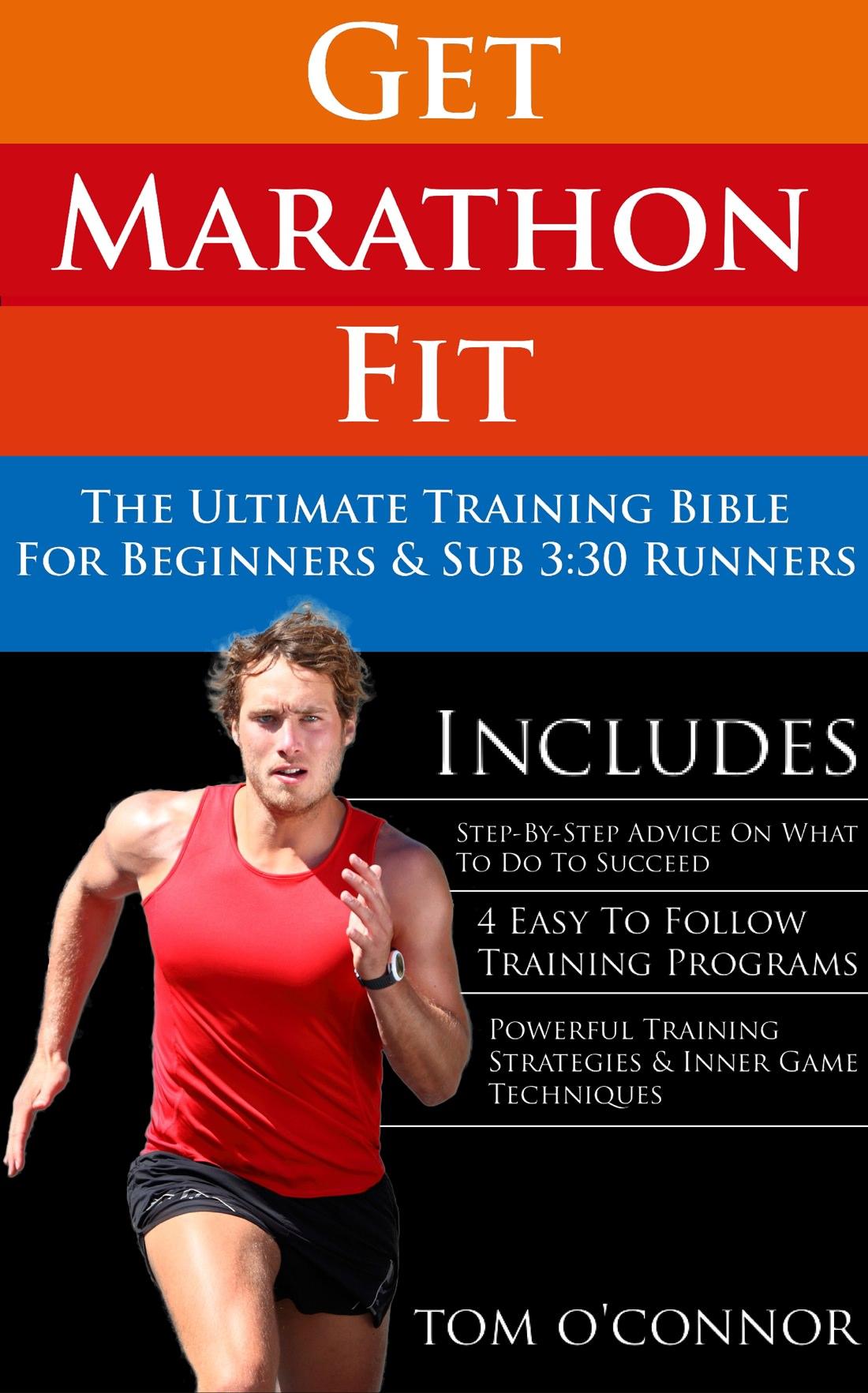 Ebook-Cover - Get Marathon Fit by Tom O'Connor